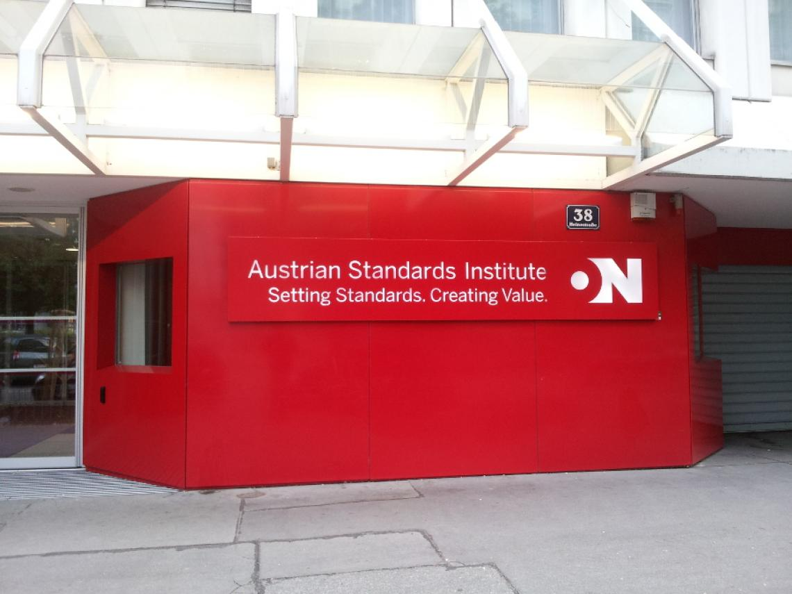 The International Organisation for Standards in Vienna