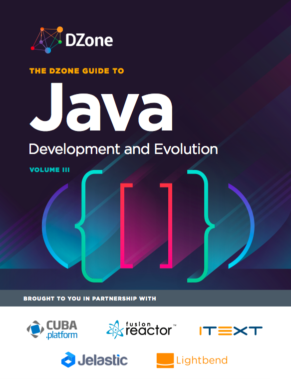 2017 DZone Guide to Java