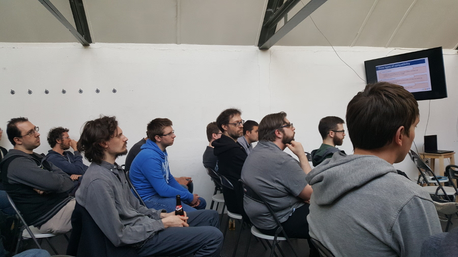 Hackerspace Ghent; Newline 2017: The audience is listening