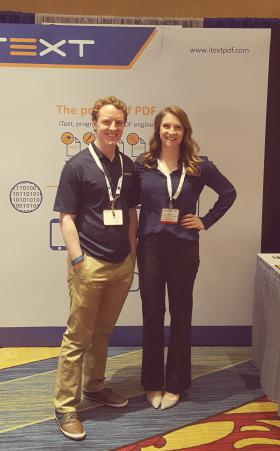 Team iText at Document Strategy Forum