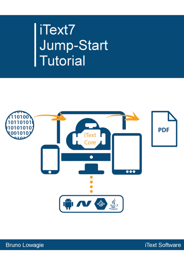 Book page : iText 7: Jump-Start Tutorial for Java
