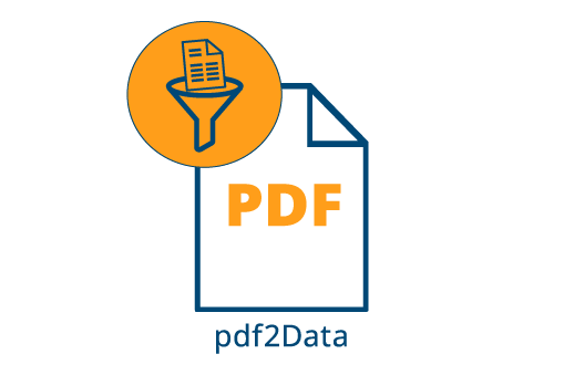 pdf2Data PDF data extraction and processing tool by iText PDF