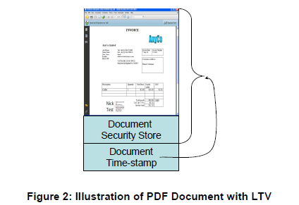 Figure 2: Illustration of PDF Document with LTV