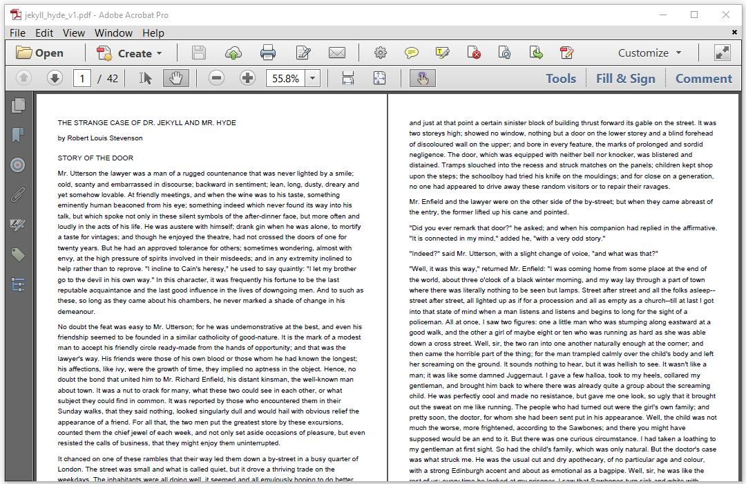 Book page : Chapter 2: Adding content to a Canvas or a Document