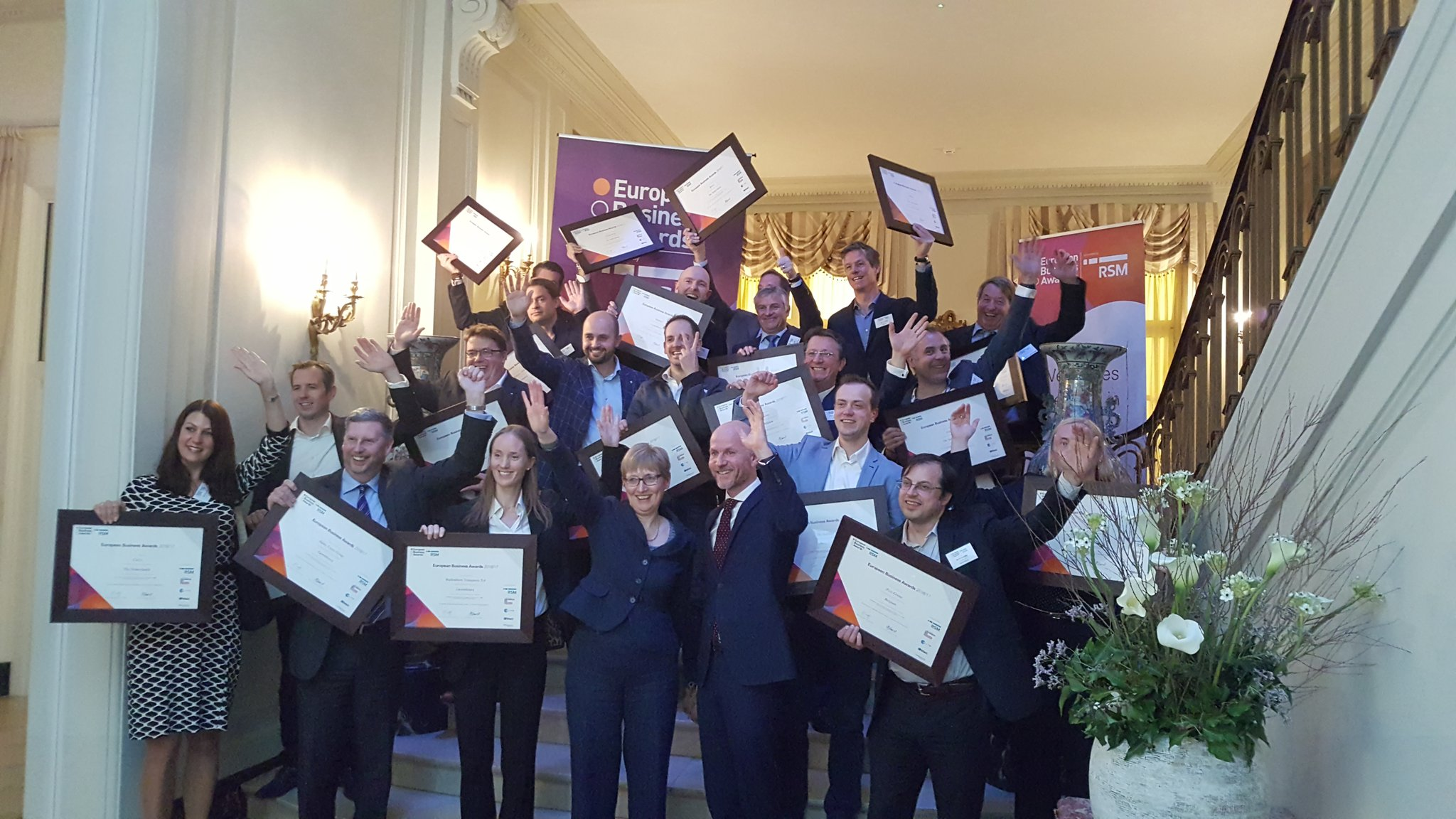 Benelux National Champions - European Business Awards 2016/17