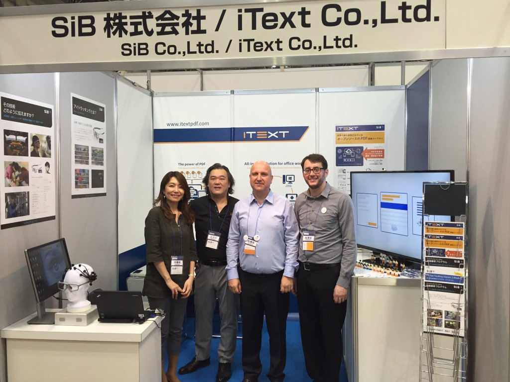 The iText crew in Japan