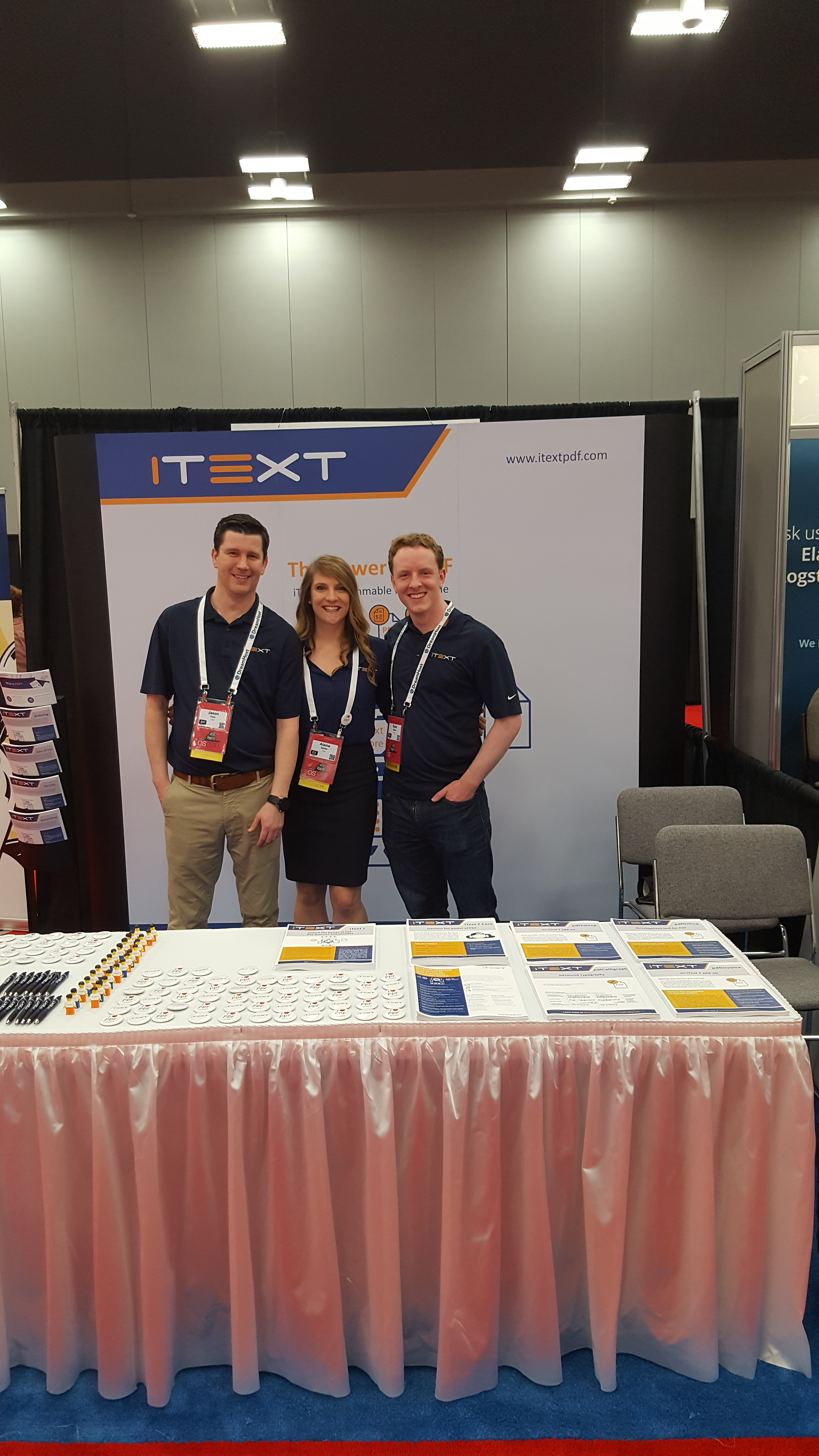 iText at OSCON Austin 2016, open source PDF