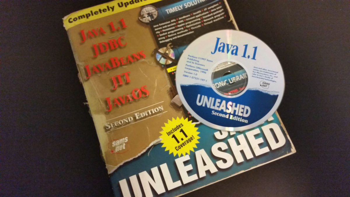 My first Java book