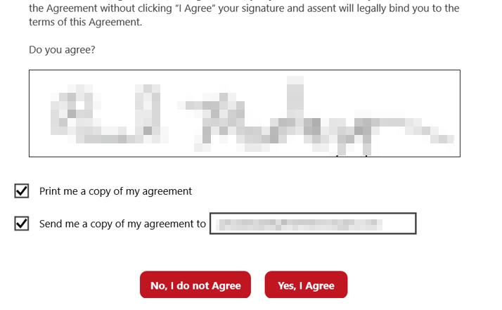 Long term validation signature