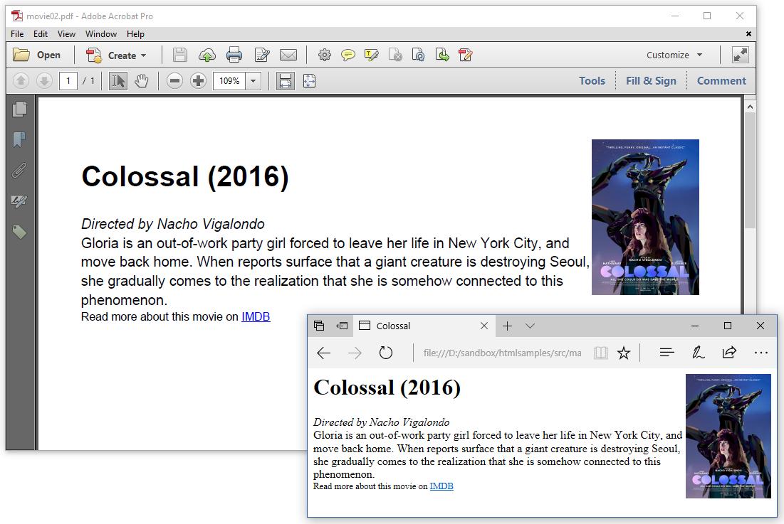 itextsharp html to pdf inline styles