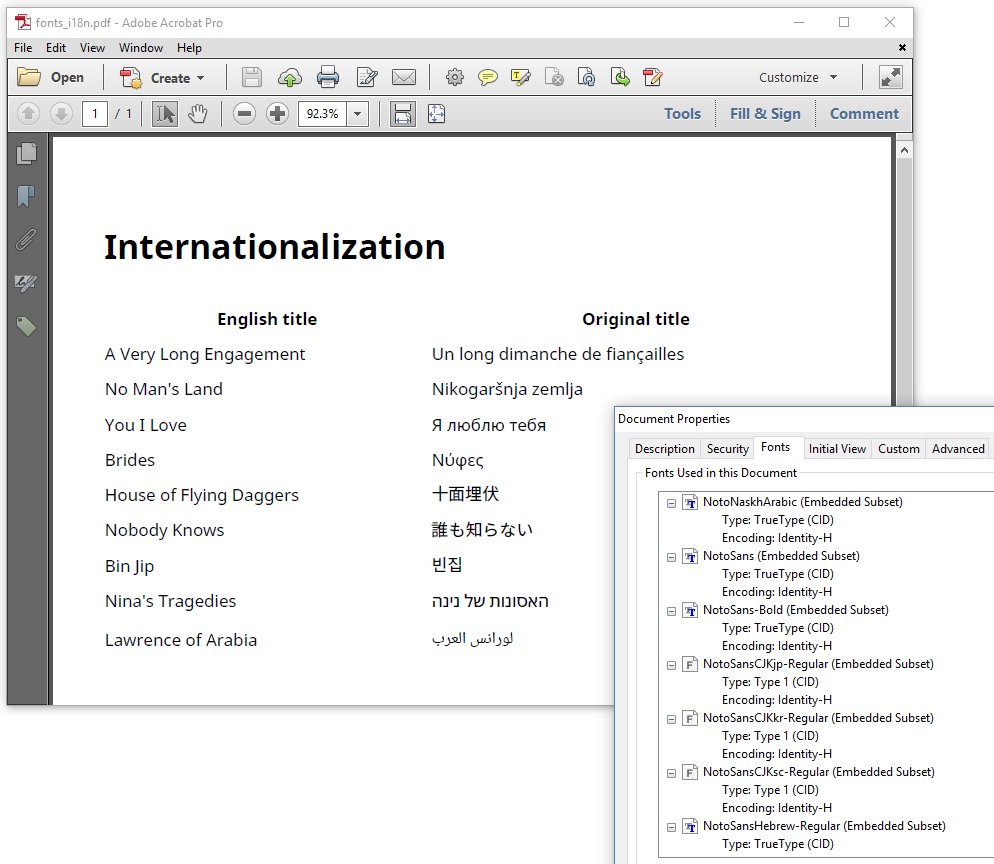 Figure 6.22: Internationalization (PDF)