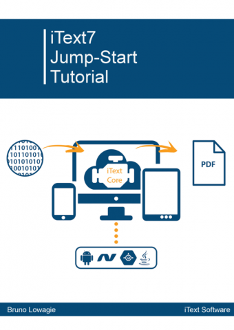 eBook cover iText 7 Jump-Start Tutorial