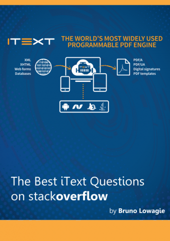 eBook cover Best iText Questions on StackOverflow