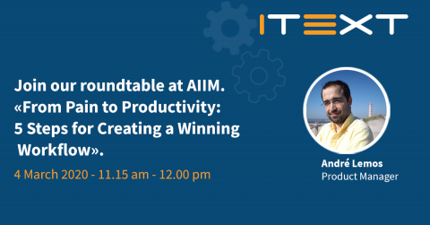 Roundtable session AIIM