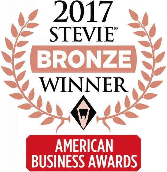 2017 Stevie Bronze Winner; American Business Awards