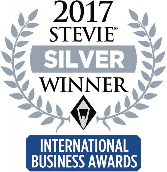 2017 Stevie Silver Winner; International Business Awards