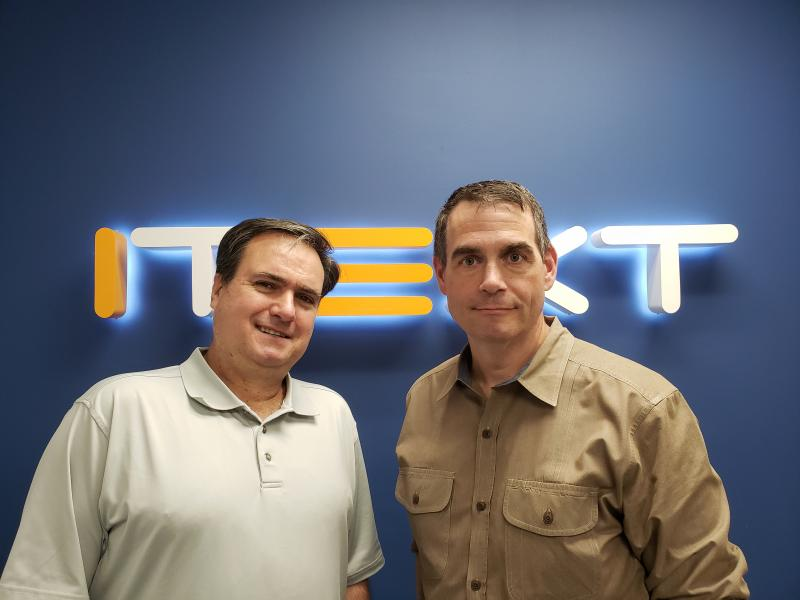 John Eddy and Bill Fanning join iText