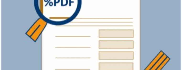Digital signatures for PDF documents