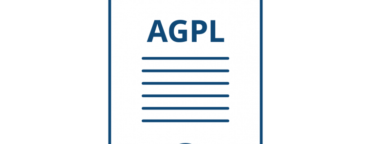 AGPL license webimage png