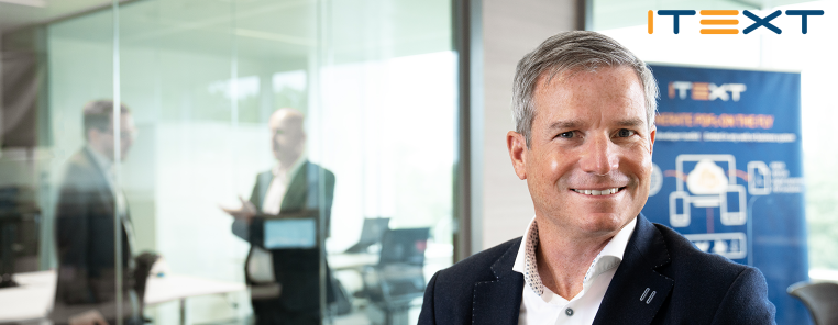 iText new CEO, Gary Fry