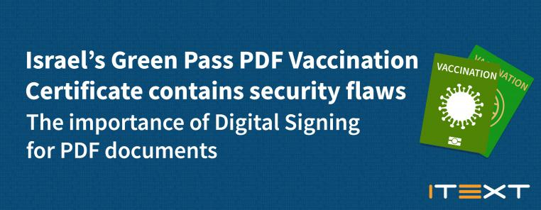 green pass pdf vaccination certificate